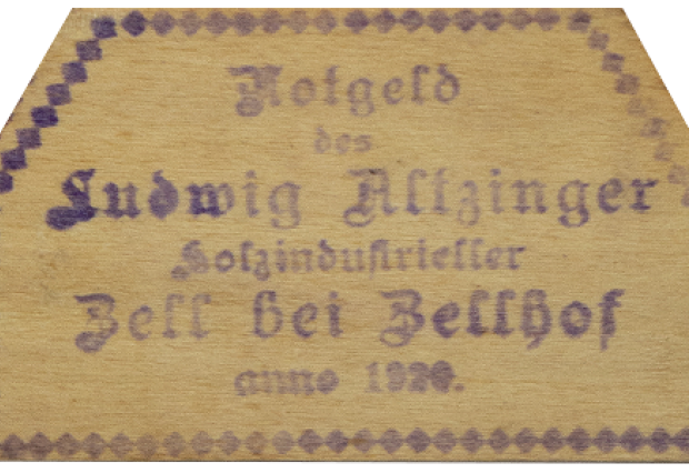 Austrian notgeld private