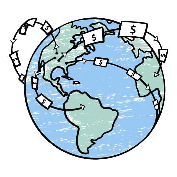 world money flow