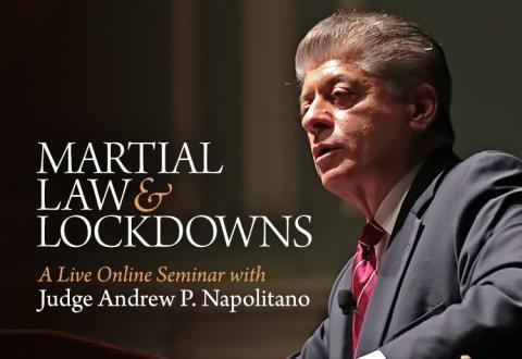 Martial Law and Lockdowns Seminar