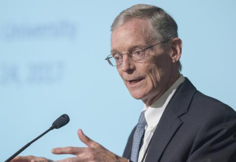 Jeffrey Herbener at Mises University 2017