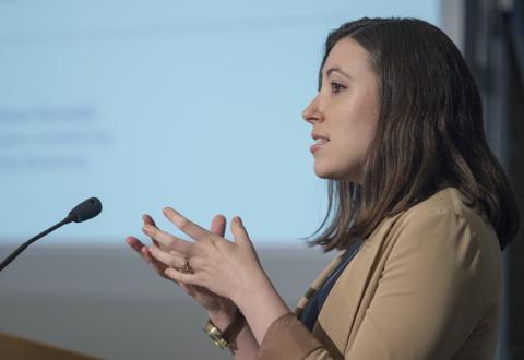 Carmen Dorobăț at Mises University 2017