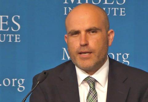 Ryan McMaken at the 2018 Mises Supporters Summit