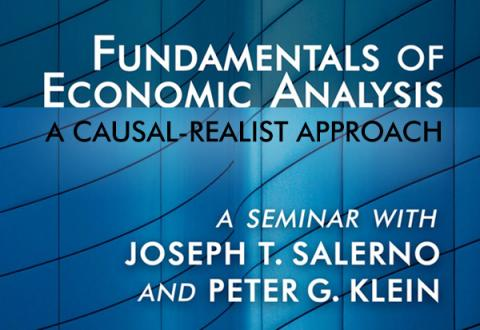 Fundamentals of Economic Analysis