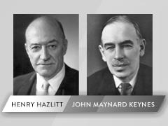 Hazlitt and Keynes