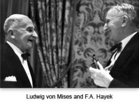 Mises and Hayek