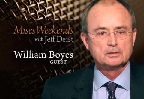 William J. Boyes on Mises Weekends