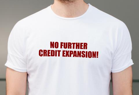 No further credit expansion!