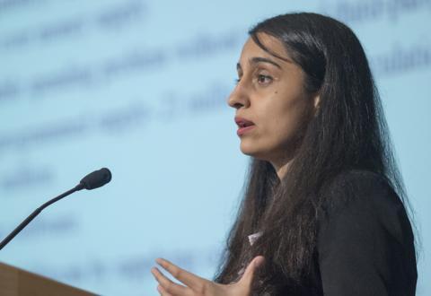 Malavika Nair at Mises University 2017