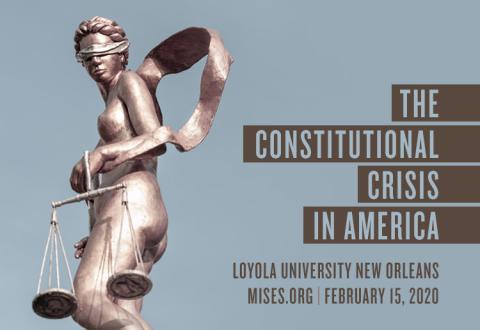 Mises Institute in New Orleans 2020