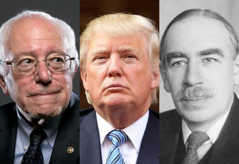Sanders, Trump, and Keynes