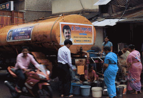 Water Tanker India