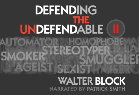 Defending the Undefendable II audiobook