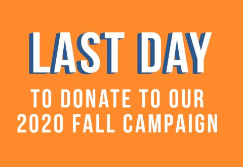 fall campaign final day