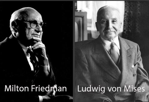 Friedman and Mises