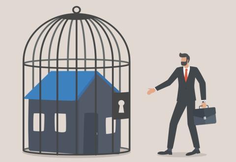 derechos de propiedad restringidos