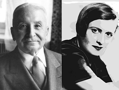 Image result for ludwig von mises ayn rand