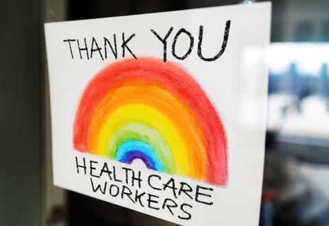 gracias trabajadores de la salud