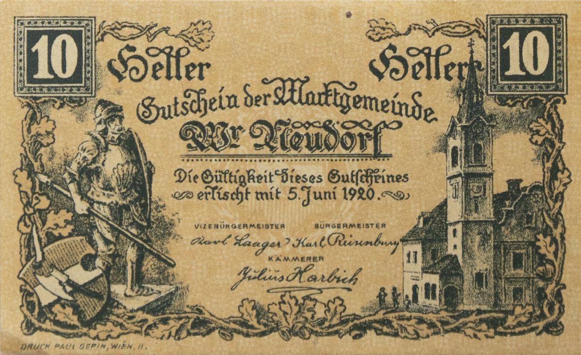 """A mania austríaca do """"dinheiro do crédito"""" de 1920 2"""